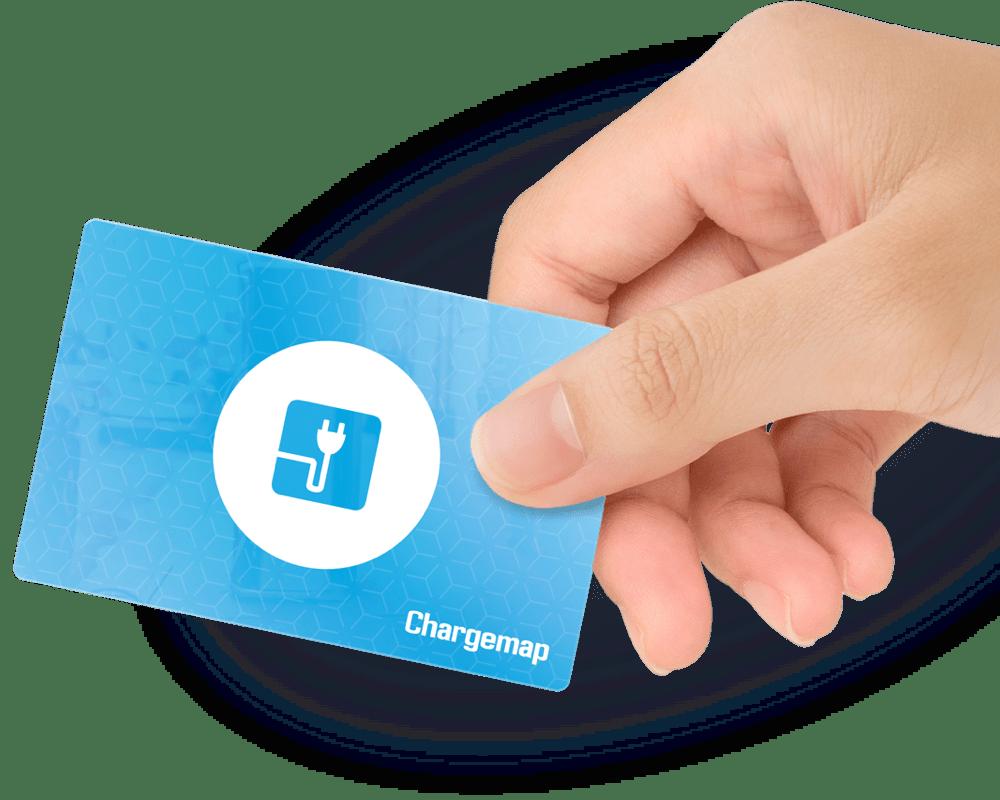La tarjeta que simplifica la recarga eléctrica.